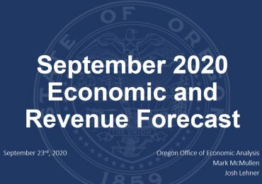 Oregon Economists Unveil Upward Revision to State Fiscal Outlook